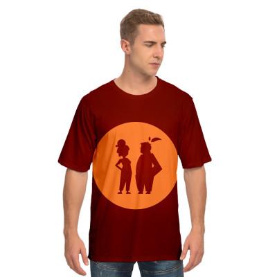 It Takes Two T-Shirt Sommer T Shirt Kurzarm Runshals T Shirt