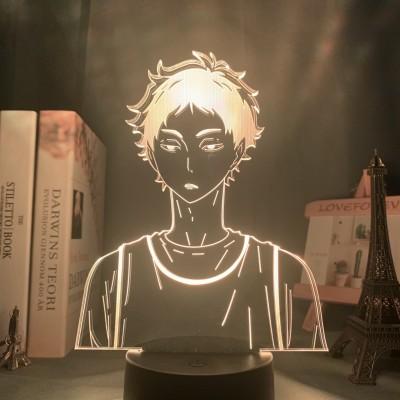 Haikyuu!! Shouyou HINATA LED Licht Tischlampe Nachtlicht 7 Farbe Zuhause Dekoration