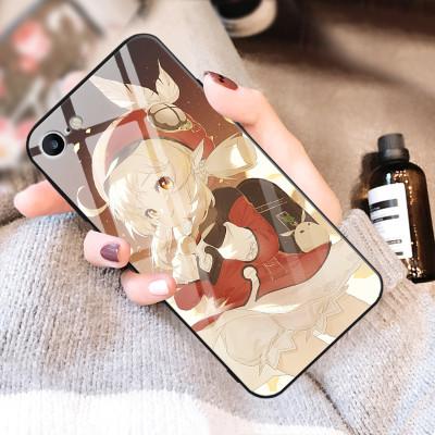 Handyhülle Genshin Impact Handyhülle Silikon/Glas Hülle für Spiel Fans