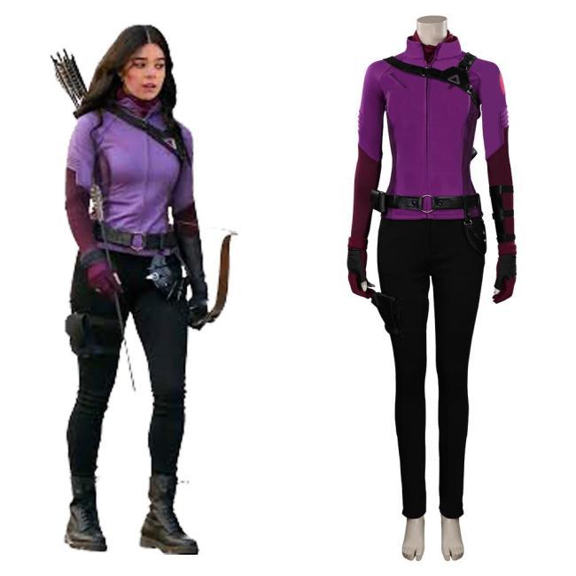 Hawkeye Kate Bishop Kostüm Cosplay Halloween Karneval Outfits