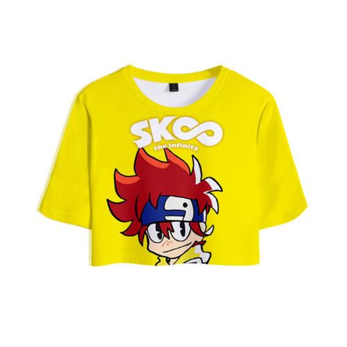 SK8 The Infinity Sommer T Shirt Reki Kyan Kurzarm Rundhals Sportbekleidung