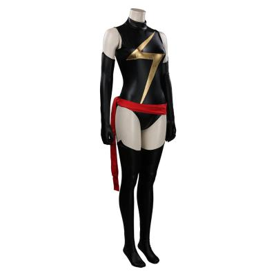 Ms. Marvel Kostüm Cosplay Halloween Karneval Outfits