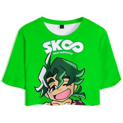 Joe SK8 The Infinity Sommer T Shirt Kojiro Nanjo Kurzarm Rundhals Sportbekleidung