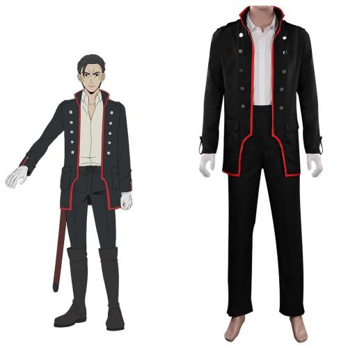 Mars Red Yoshinobu Maeda Uniform Cosplay Kostüm Halloween Karneval Outfits