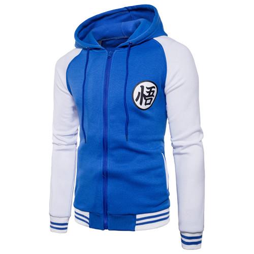 Dragon Ball Jacke mit Kaputze Hooded Pulli für Erwachsene Unisex Sweatshirt
