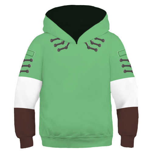 Kinder The Legend of Zelda Hoodie 3D Druck Kinder Sweatshirt Pullover mit Kaputze