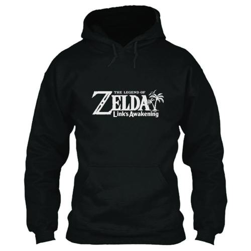 The Legend of Zelda: Link's Awakening Hoodie Pullover mit Kaputze Hooded Pulli Erwachsene 3D Druck Schwarz