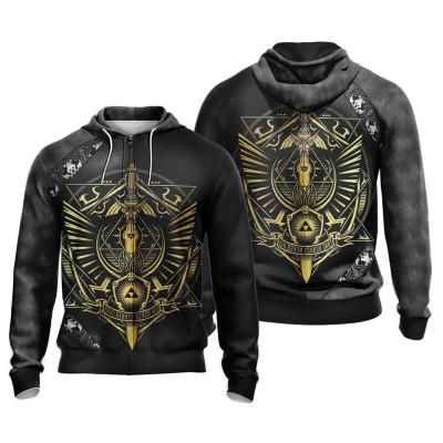 The Legend of Zelda Cosplay Hoodie 3D Druck Sweatshirt Men Erwaschene Jacke Pullover mi Kaputze
