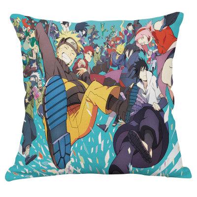 Kissen Naruto Uzumaki Naruto Sasuke Uchiha Kissenbezug Kopfkissen Sitzkissen Zuhause Dekoration
