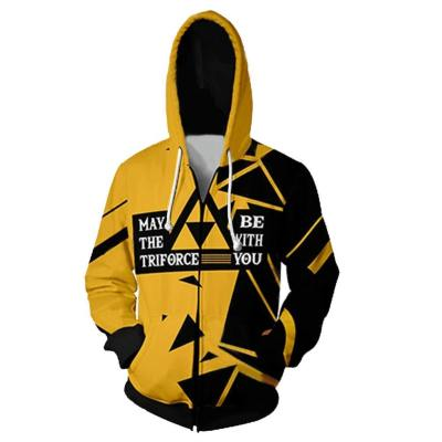 The Legend of Zelda Cosplay Hoodie Erwachsen Hooded Sweatshirts Jacke für Reißverschluss