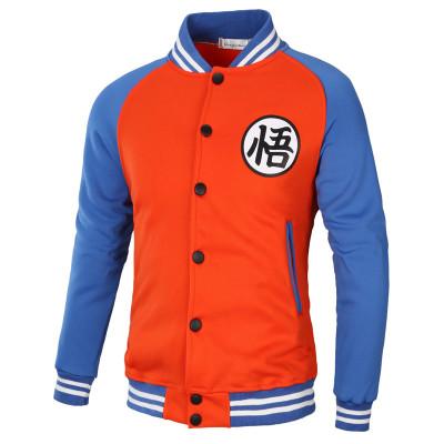 Dragon Ball Z College Jacke Baseball Style für Erwachsene Unisex für Alltag