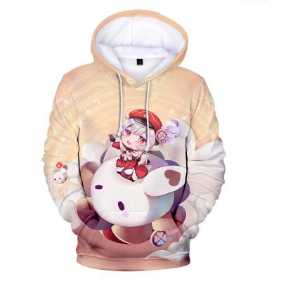 Genshin Impact Hoodie Keqing Ganyu Klee Hoodie Pullover mit Kaputze für Alltag