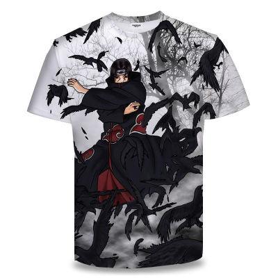 Unisex NARUTO Sommer T-Shirt Rundhals Kurzarm T-Shirt Erwachsene Unisex T- Shirt