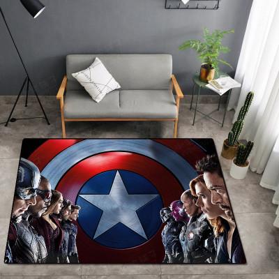 Avengers Captain America Spider man Iron Man Black Widow Fußmatten Maße 50*80cm