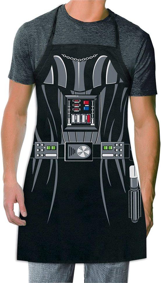 Star Wars – Darth Vader Schürze für Erwachsene Vatertag Geschenk BBQ Geschenk 58*72cm