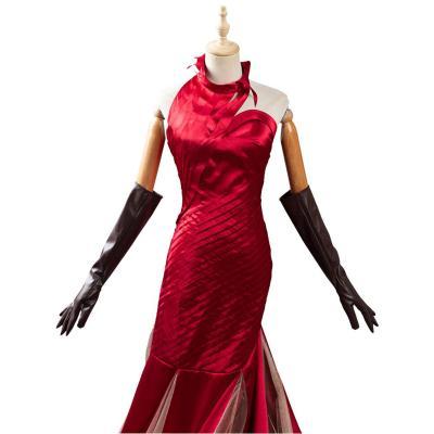 Cruella Cruella de Vil Rot Cosplay Kostüme Outfits Halloween Karneval Kleid
