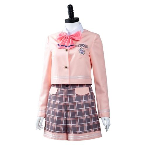 Aikatsu Planet! Seirei Private Hochschule Schuluniform Cosplay Kostüme Halloween Karneval Outfits