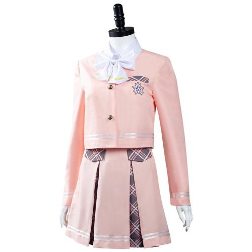 Aikatsu Planet! Seirei Private Hochschule Schuluniform Cosplay Kostüme Outfits Halloween Karneval Suit