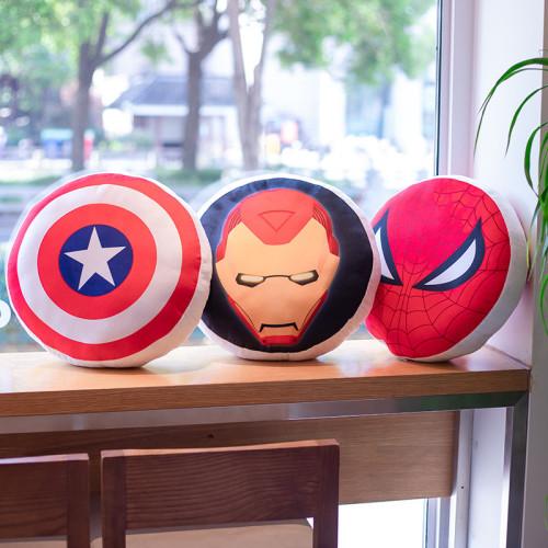 Marvel Plüsche Kissen Captain America Spider man Iron man Batman Kissen als Geschenk 40*40cm