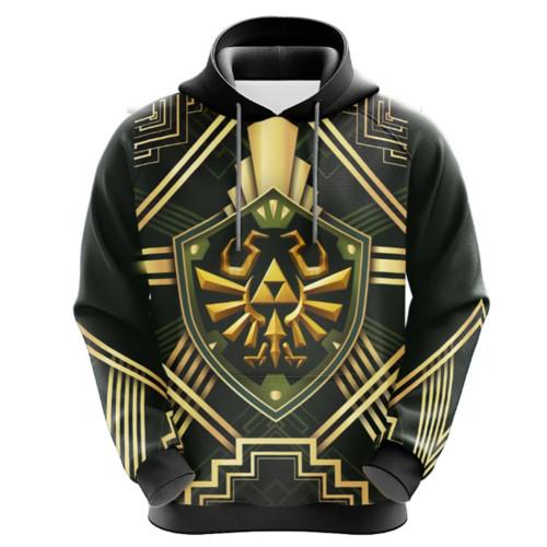 The Legend of Zelda Pulli 3D Druck Sweatshirt Erwaschene Hoodie Pullover mi Kaputze