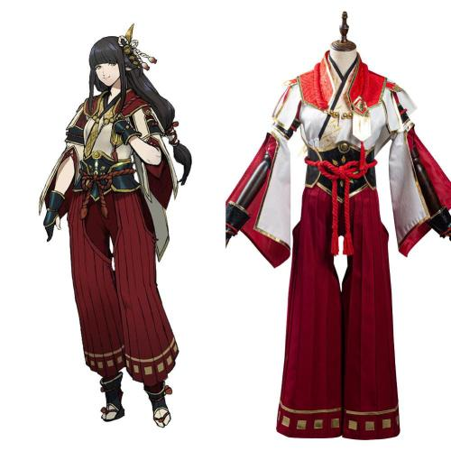 Monster Hunter Rise Hinoa Cosplay Kostüme Outfits Halloween Karneval Suit