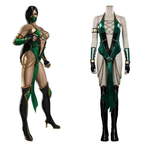 Mortal Kombat Jade Cosplay Kostüme Outfits Halloween Karneval Suit