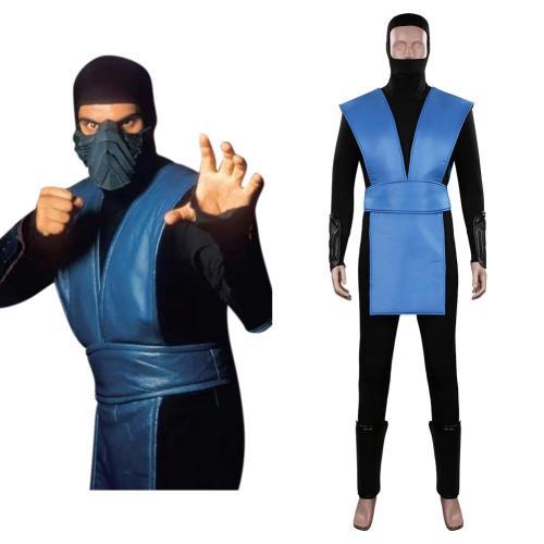 Mortal Kombat Sub-Zero Cosplay Kostüme Outfits Halloween Karneval Suit