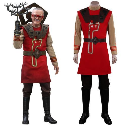 Thor Stan Lee Cosplay Kostüme Halloween Karneval Outfits