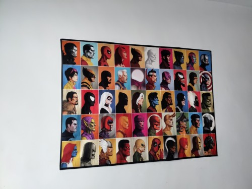 Avengers Bilder Wandbild Wandtuch Zudecke Zuhause Deko als Hintergrund 200*150 cm