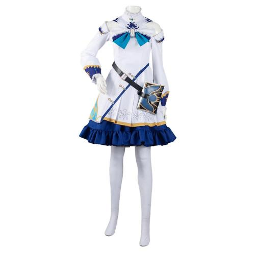 Genshin Impact Barbara Cosplay Kostüme Outfits Halloween Karneval Kleid