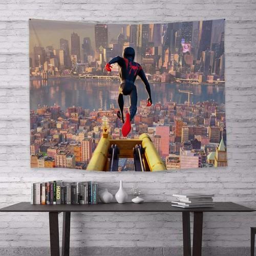 Spider Man Bilder Wandbild Wandtuch Zudecke Zuhause Deko als Hintergrund 200*150 cm