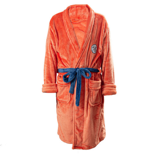 Badeanzug Dragon Ball Son Goku Schlafanzug Plüsche Robe Mantel Erwachsene Pajamas