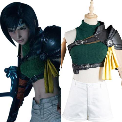 Final Fantasy VII: Remake FF7 Yuffie Kisaragi Cosplay Kostüme Halloween Karneval Outfits