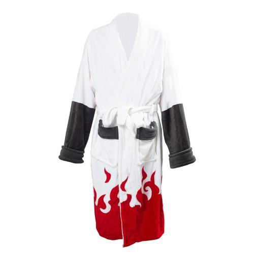 NARUTO Robes Uzumaki Naruto Bademantel Kostüm Robe für Erwachsene