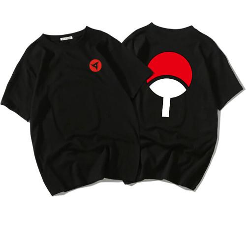 NARUTO T-Shirt Akatsuki Sharingan Druck Sportbekleigung Unisex Erwachsene Sommer T Shirt