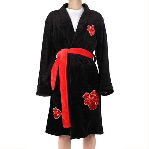 NARUTO Uchiha Itachi Bademantel Bathrobe Umhang Kostüm auch für Alltag