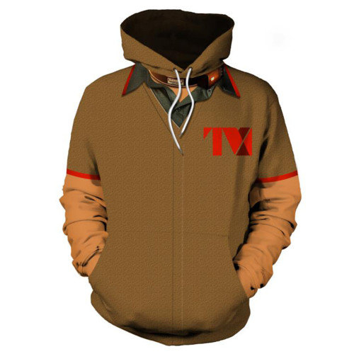 Loki Hoodei Loki 2021 Unisex Pullover mit Kaputze für Erwachsene
