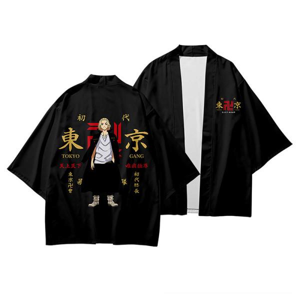 Tokyo Revengers Manjirou Sano Umhang Haori für Alltag