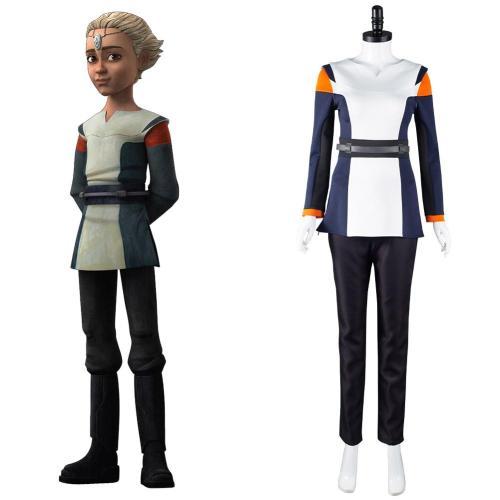 Star Wars: The Bad Batch Omega Cosplay Kostüm Halloween Karneval Outfits