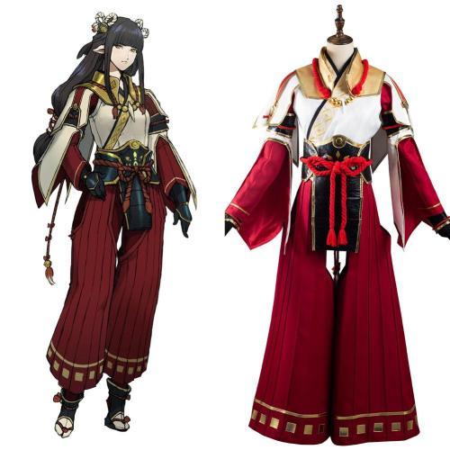 Monster Hunter Rise Minoto Cosplay Halloween Karneval Outfits Kostüme