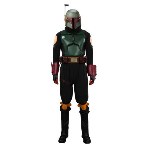 The Mandalorian Boba Fett Cosplay Kostüme Outfits Halloween Karneval Suit