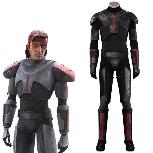 Star Wars: The Bad Batch Cosplay Kostüm Bodysuit Outfits Halloween Carnival Suit