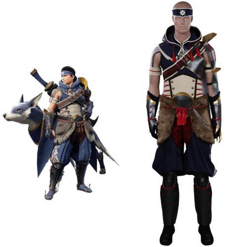 Monster Hunter Rise Hunter Cosplay Kostüme Outfits Halloween Karneval Suit