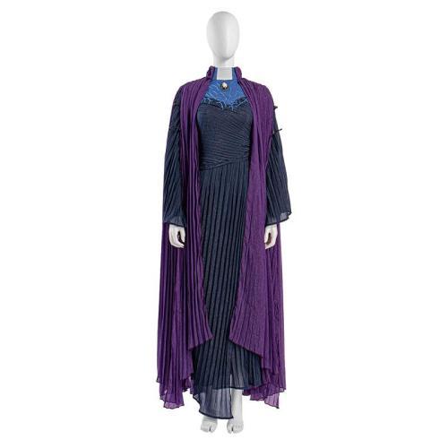 WandaVision Agatha Harkness Cosplay Kostüme Outfits Halloween Karneval Suit