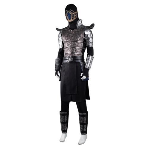 Mortal Kombat Sub-Zero Cosplay Kostüme Halloween Karneval Outfits