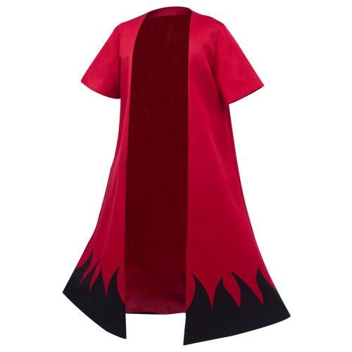 Kinder Naruto Uzumaki Kimono Cardigan Cosplay Kostüme Umhang Cospaly Halloween Karneval Haori