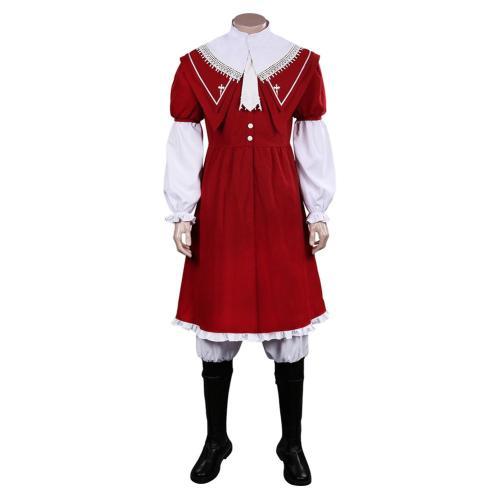 Final Fantasy Joshua Rosfield Cosplay Kostüm Outfits Halloween Karneval Umhang