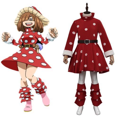 Kinder My Hero Academia Kinoko Komori Cosplay Kostüme Outfits Halloween Karneval Kleid