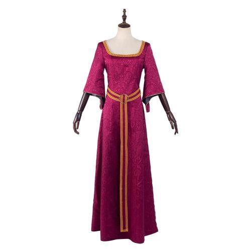 Tangled Mother Gothel Cosplay Kostüm Outfits Halloween Karneval Kleid