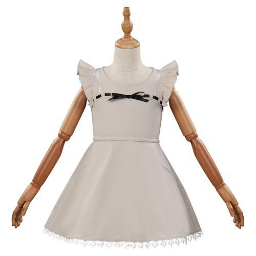 Kinder Final Fantasy VII FF7 Remake Tifa Lockhart Kostüm Cosplay Kleid